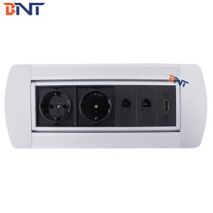 Manual Rolling Desktop Socket Box MK6221EU