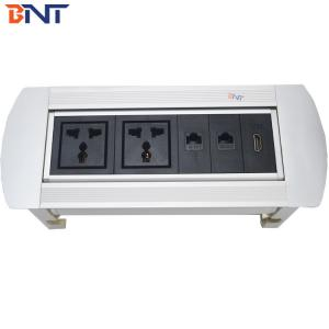 Manual rotating desk power outlet MK6221