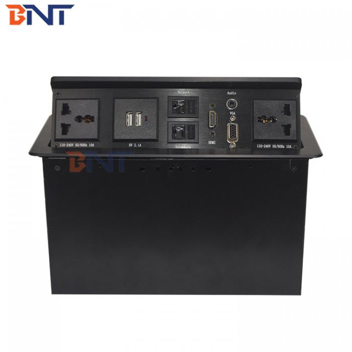 Gas pop up electrical table socket BP980