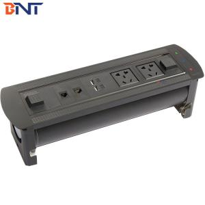 Flip up power Outlet with CAT6 Network EK6207