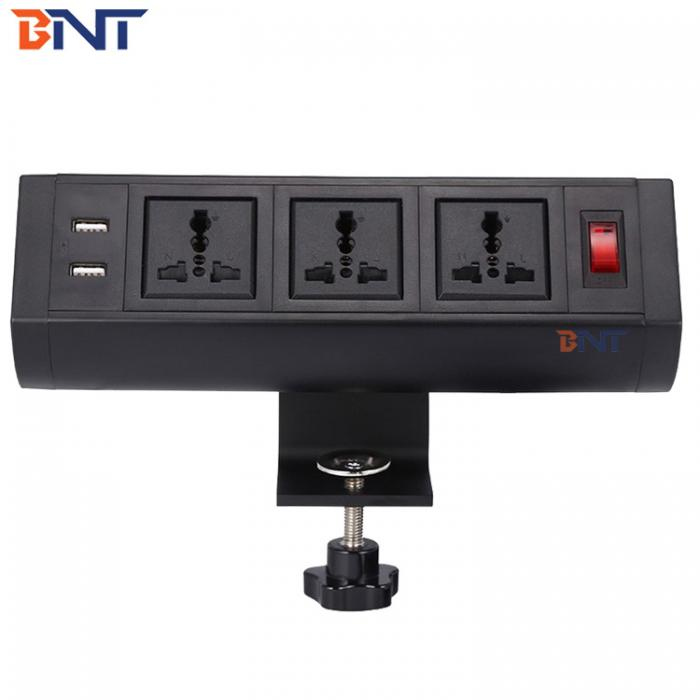 Clamp-on table Power socket  BTS-303