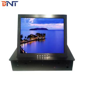 Motorized Flip up touch monitor lift BF7-17.3A