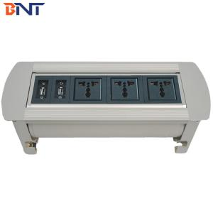 Multimedia table manual flip up socket MK6300