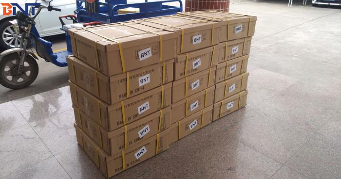 2019-2-28 sent 400 sets projector lift to Southeast Asia
