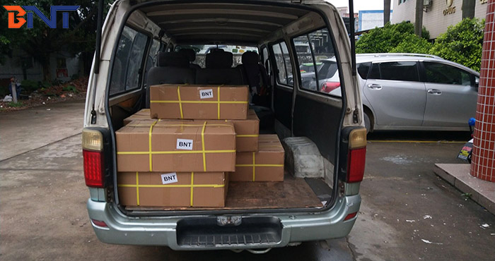 2019-3-15 shipment---loaded Indian customer 3000pcs cable grommets