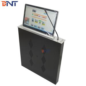 Conference lcd monitor lift with synchronous microphone BLM-18.5