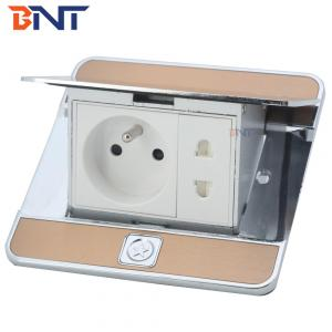 Pop-up type floor box electrical french  Plug Sockets