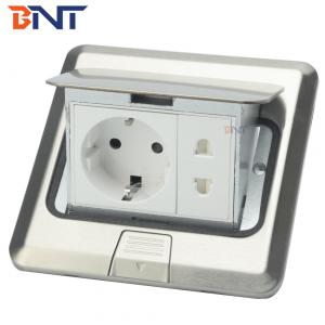 250V 10A 6 Pin pop up Outlet Floor Mounting Universal Socket For Home Use