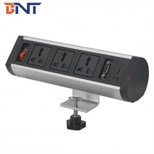 Movable clamp on desk socket BTS-404