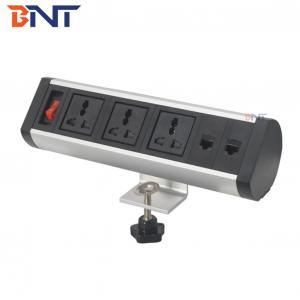 Movable clamp on desk socket BTS-405