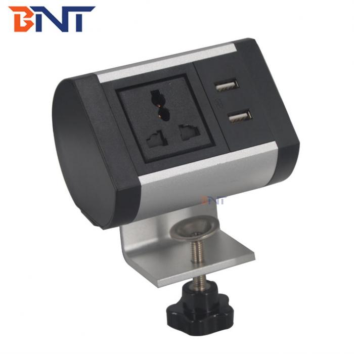 Clamp-on table Power socket  BTS-102