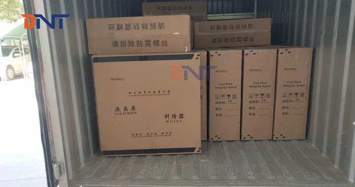 40 pcs LCD monitor lift shiped to European on 2020-1-8