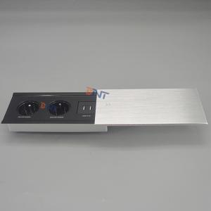 New model slip open desk socket BC-02FR